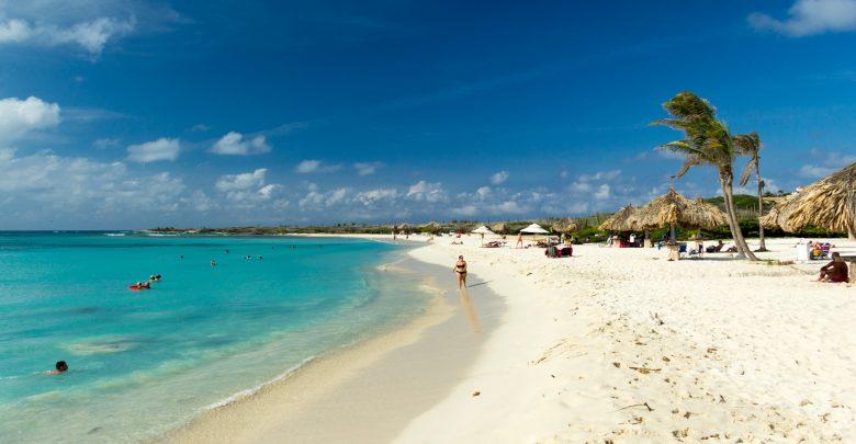 Arashi-Beach auf Aruba