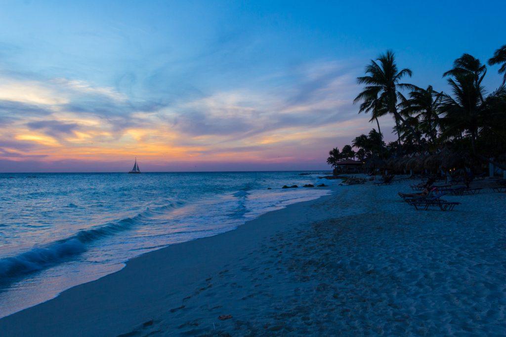 Abendstimmung auf Aruba