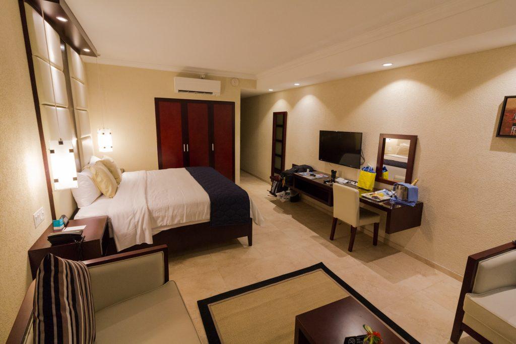 Deluxe Poolview Zimmer im Divi All-Inclusive auf Aruba