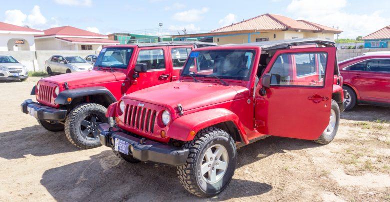 Jeep Safari auf Aruba