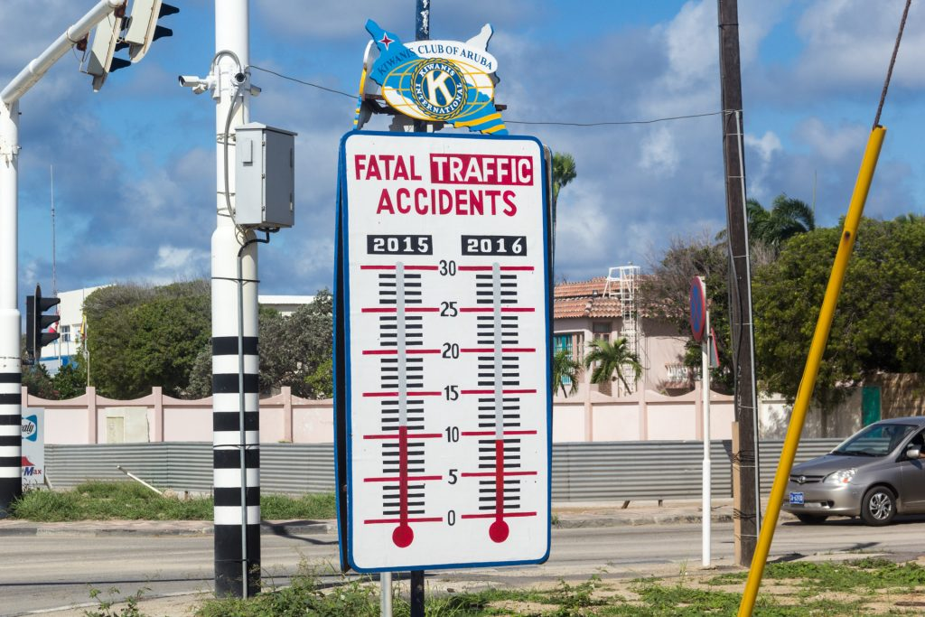 Ca. 10 Verkehrsunfälle pro Jahr - besser gehts kaum!