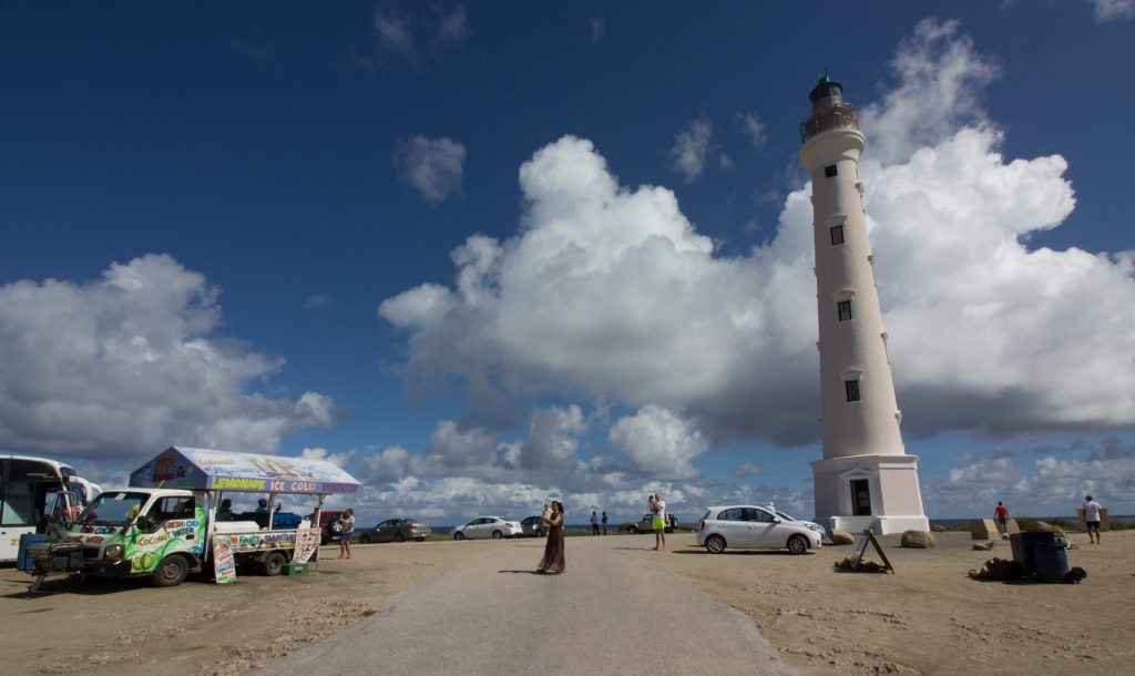 "Leuchtturm ""California Lighthouse"" auf Aruba"