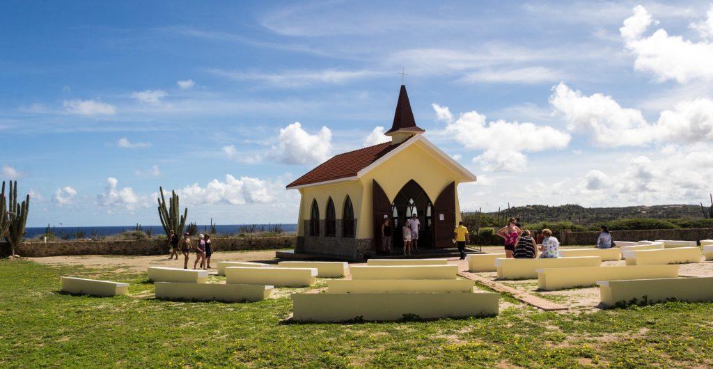 Alto Vista Chapel auf Aruba
