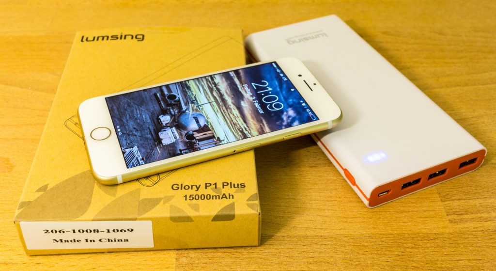 Powerbank Lumsing Glory P1 Plus