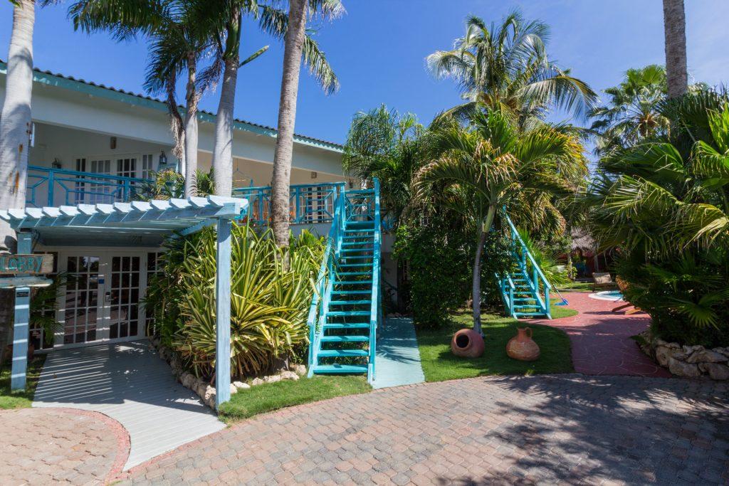 Das Boardwalk Small Hotel auf Aruba