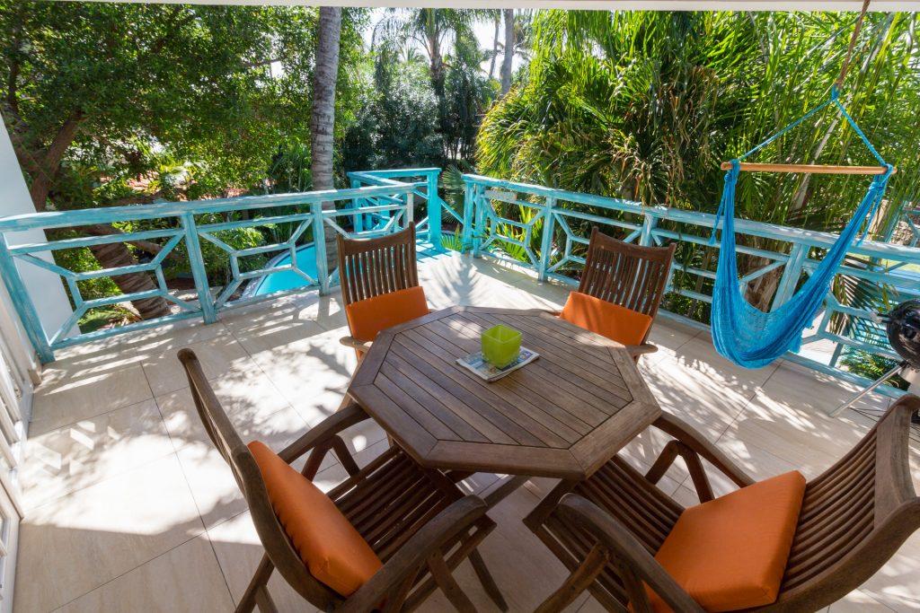 Balkon / Terrasse im Boardwalk Hotel