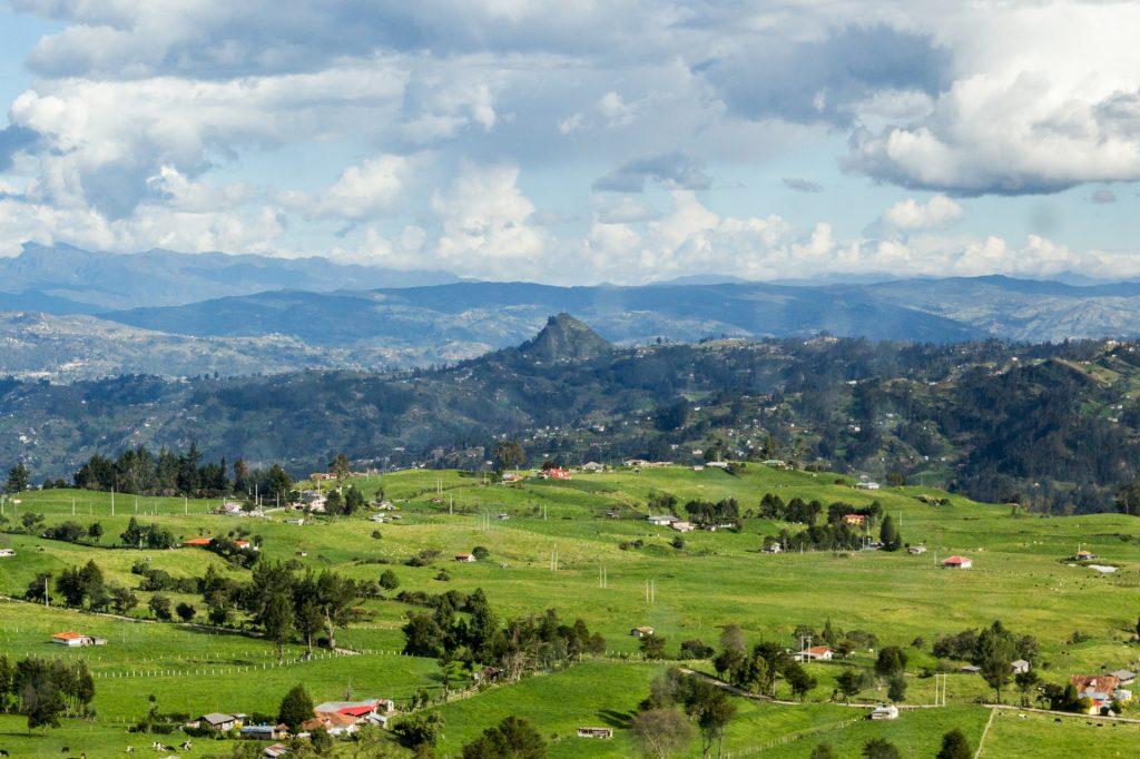 Ein markanter Berg bei Cojitambo