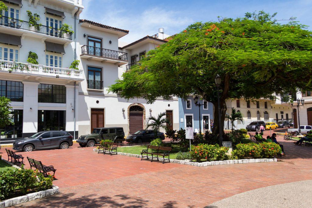 Plaza Herrera im Casco Viejo