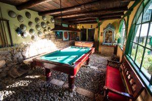 Kicker und Billar in der Posada Ingapirca