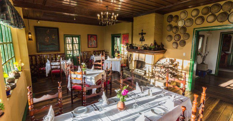 Posada Ingapirca - das Restaurant