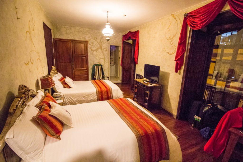 Große Zimmer im Hotel Los Balcones