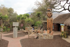 Folkloreteil im Intiñan Museum