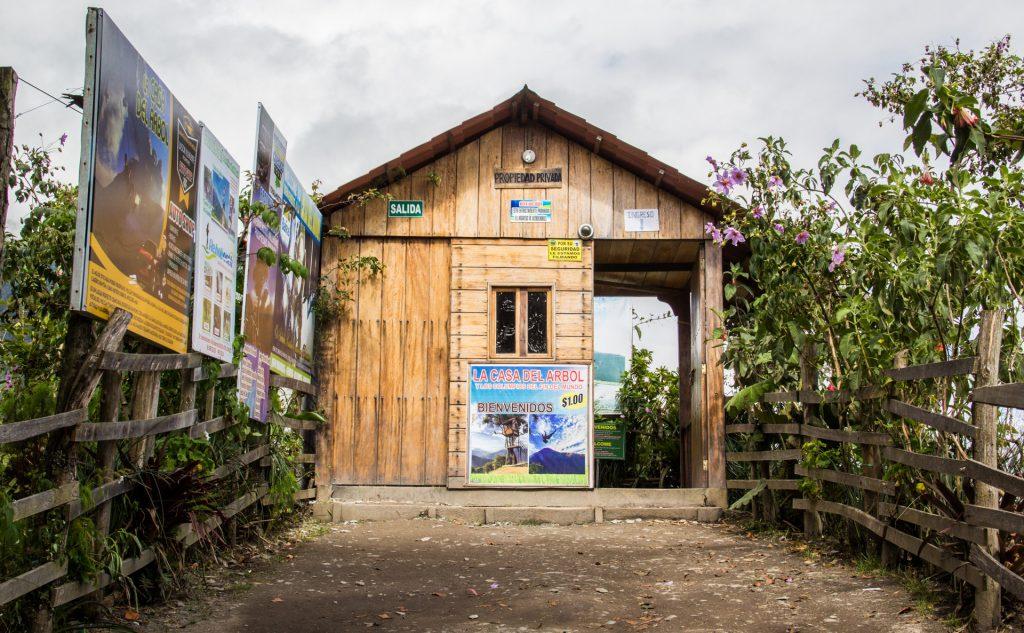 Eingang zur Casa del Arbol