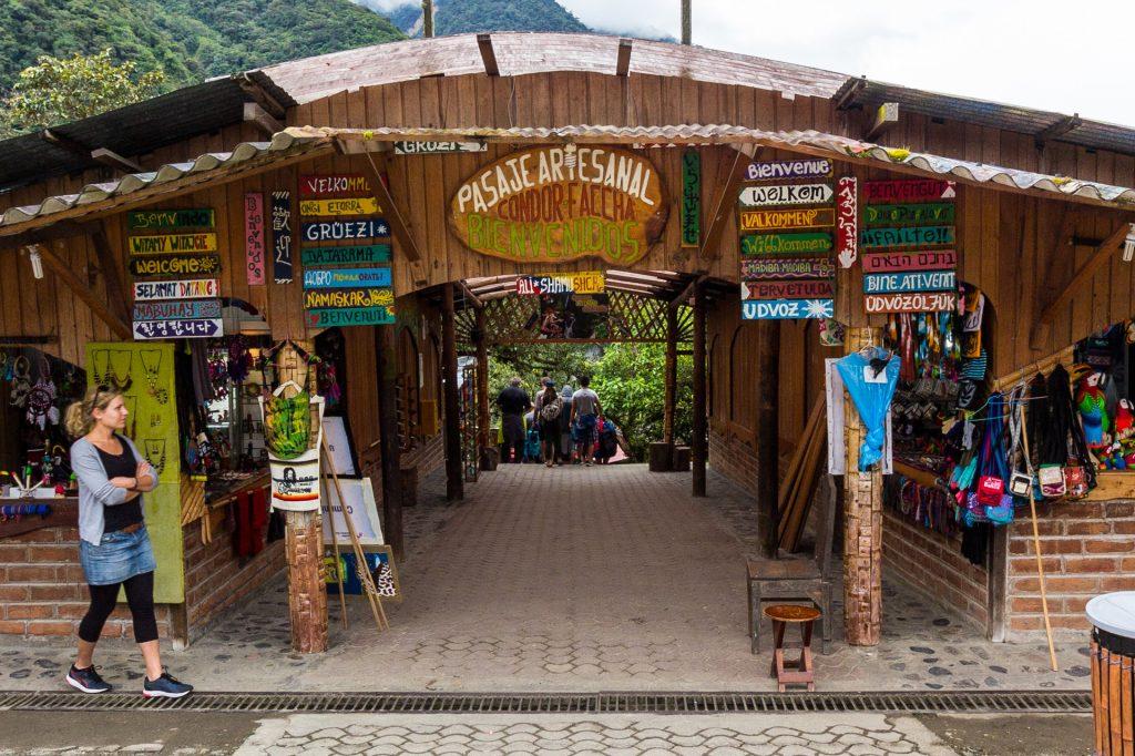 """Der """"erste"""" Eingang zum Pailón del Diablo"""