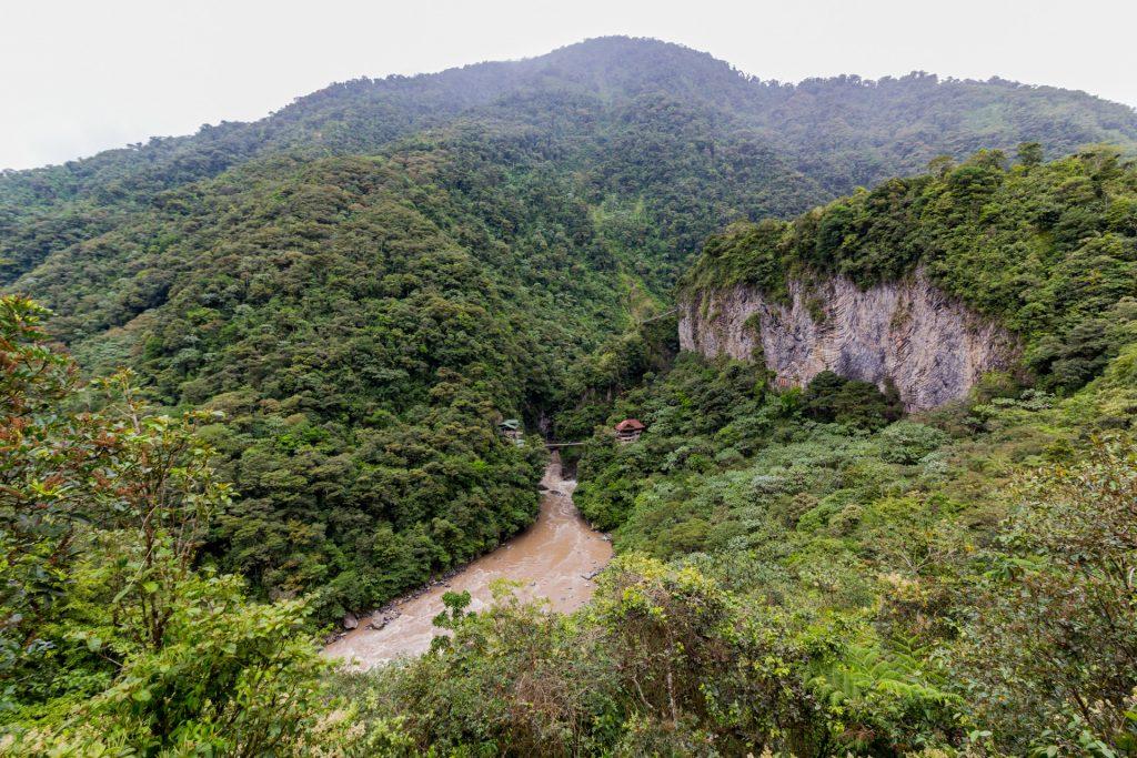 Blick auf den Río Pastaza