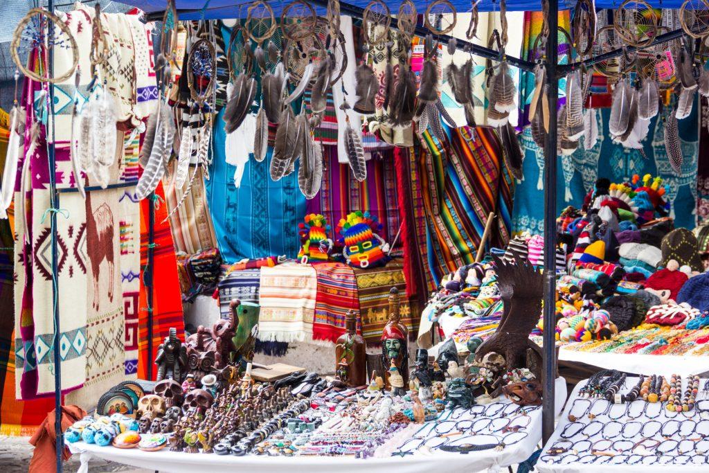 Kunsthandwerk in Otavalo
