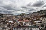 Blick zu Hügel El Panecillo