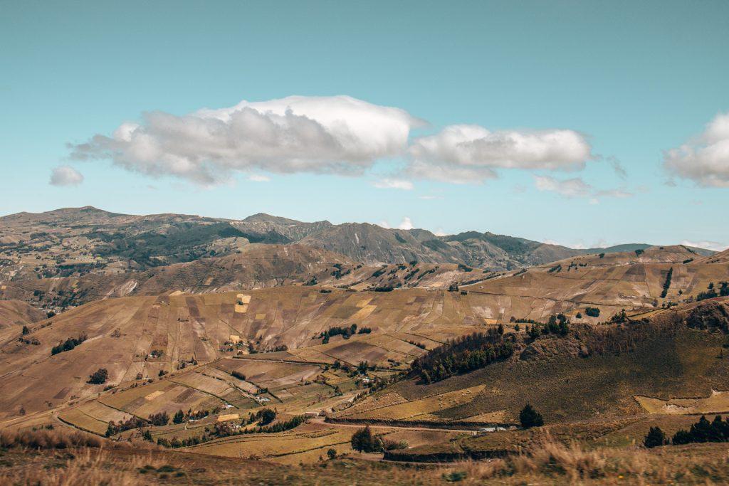 Das Hochland von Ecuador ist spektakulär