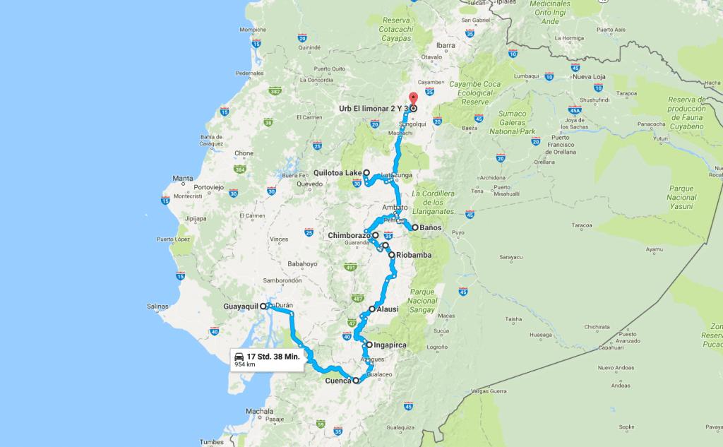 Unsere Mietwagenrundreise durch Ecuador