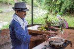 Kakao, Wasser, Zimt und Palmzucker - lecker