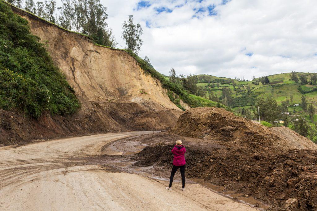 Erdrutsch in Ecuador