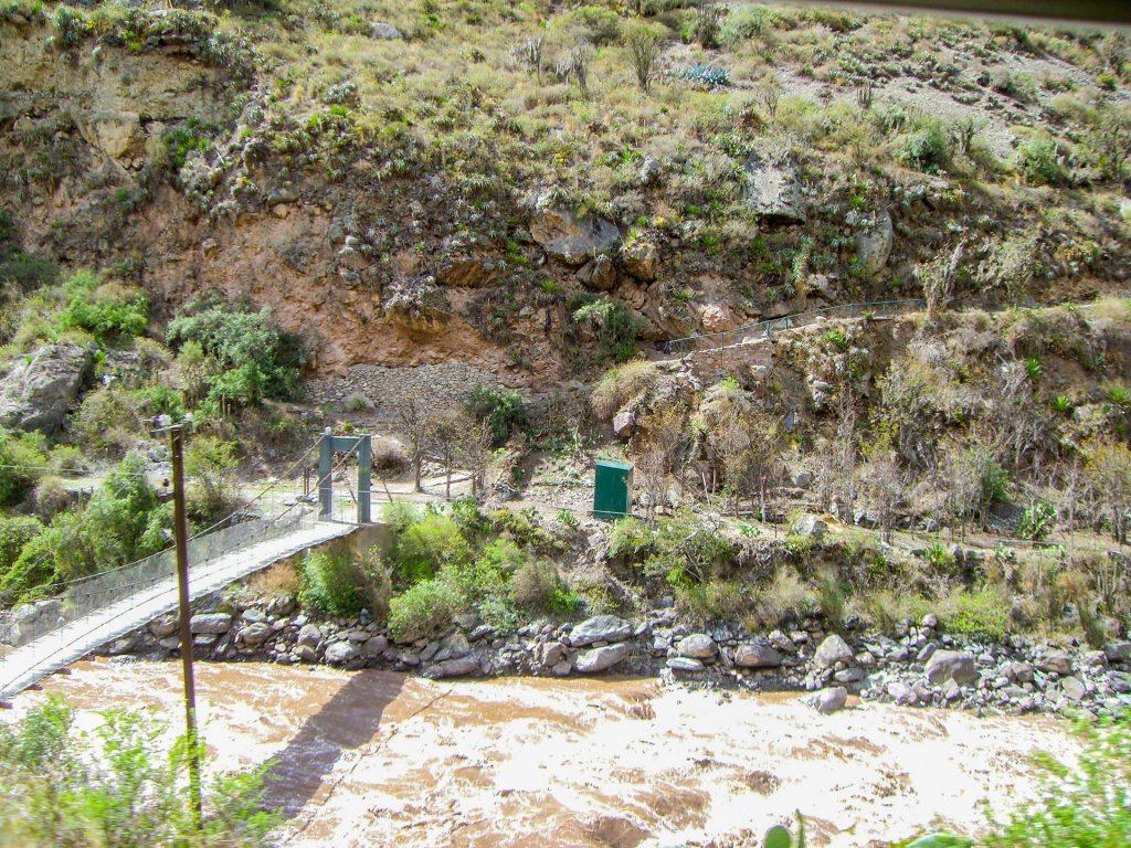 Kilometer 82 vom Inka Trail