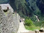 Ruinen und Touristen