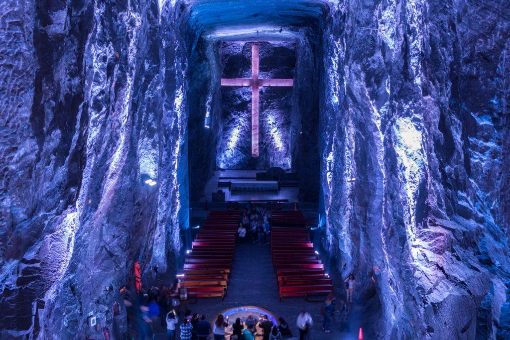 Blick auf das Kreuz der Kathedrale