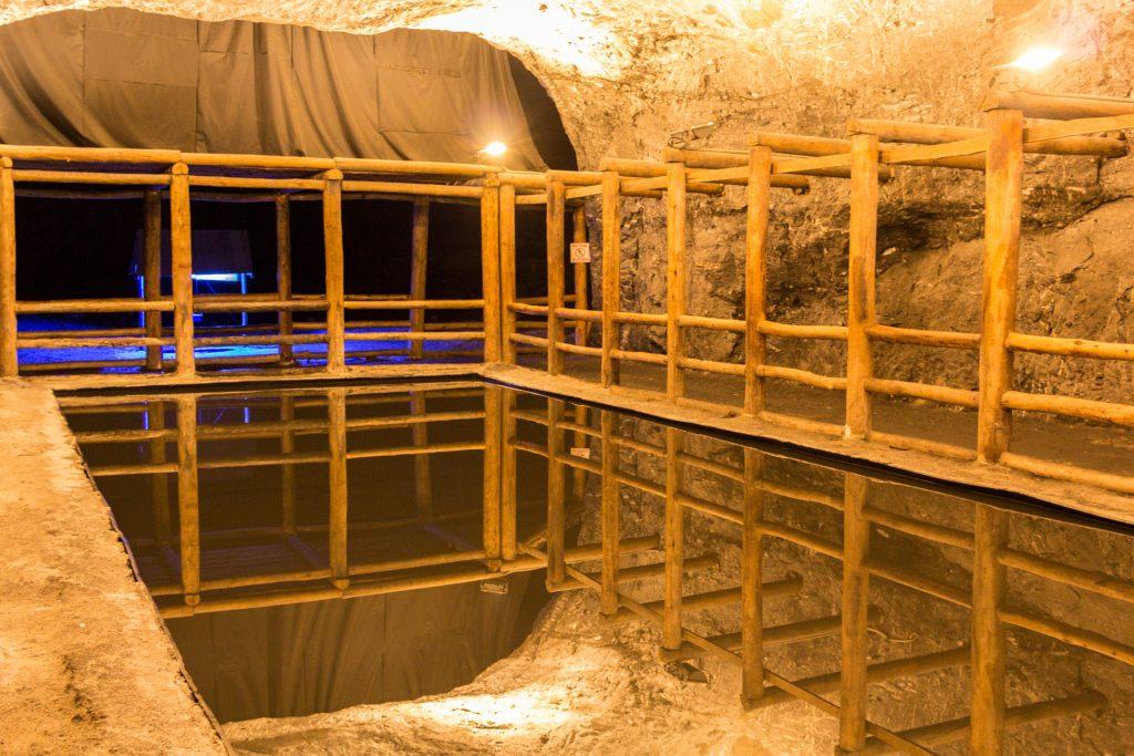 Spiegel in der Salzkathedrale von Zipaquirá