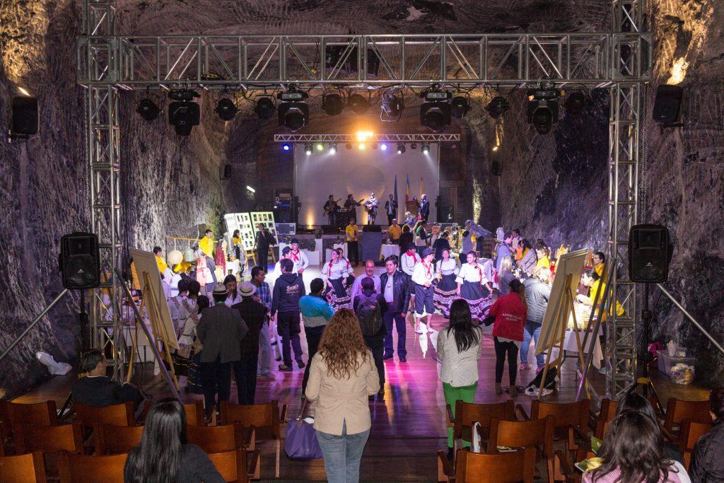 private Veranstaltung im Salzbergwerk