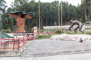 Plaza del Minero - Eingang zur Salzkathedrale
