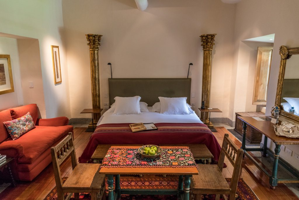 terrassen Suite im Hotel Inkaterra La Casona