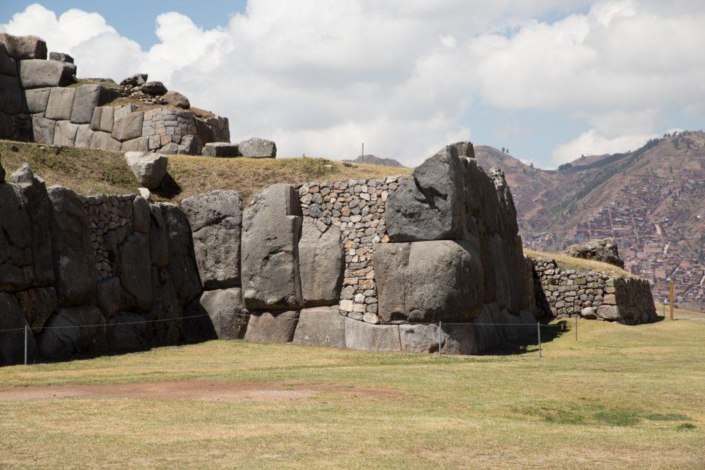 Sacsayhuamán - im Hintergrund: Cusco