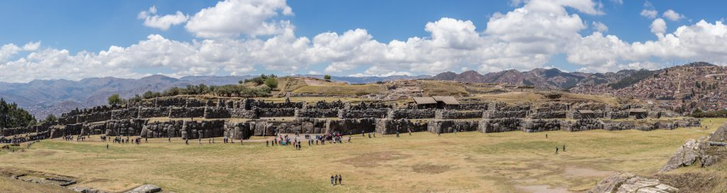Panorama von Sacsayhuamán