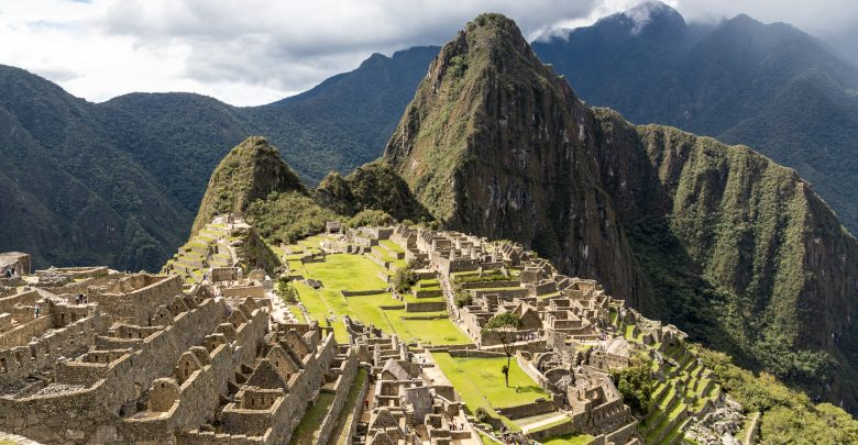 Machu Picchu - der bekannteste Blick auf die Inka-Ruinen