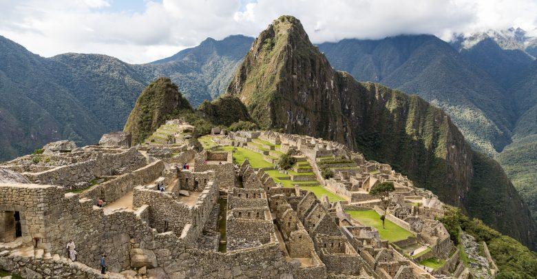 der klassische Blick über Machu Picchu