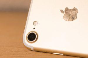 saubere Kameralinse am Handy