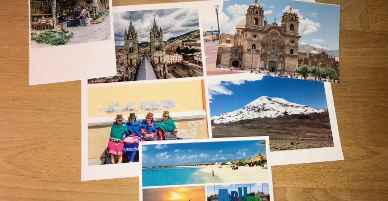 My Postcard App - Übersicht verschiedener Motive