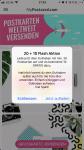MyPostcard App - regelmäßig winken Angebote