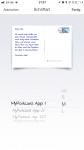 MyPostcard App - verschieden Schriftarten