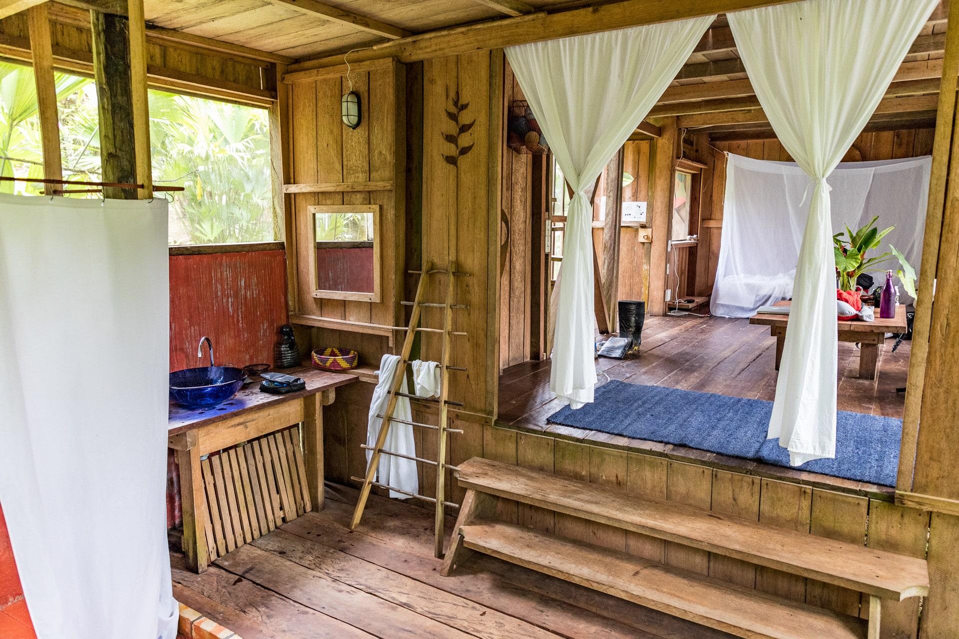 Die Calanoa Jungle Lodge Im Urwald Bei Leticia In Kolumbien