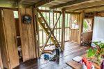 Erdgeschoss von der Hütte