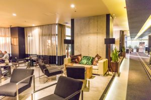 Das Restaurant Ebano im Hotel