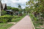 Gepflegte Wege und Vorgärten