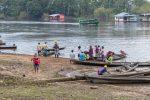 Morgendliche Idylle am Amazonas