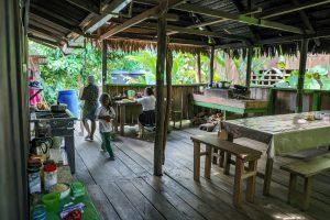 Die Küche in der Casa Gregorio
