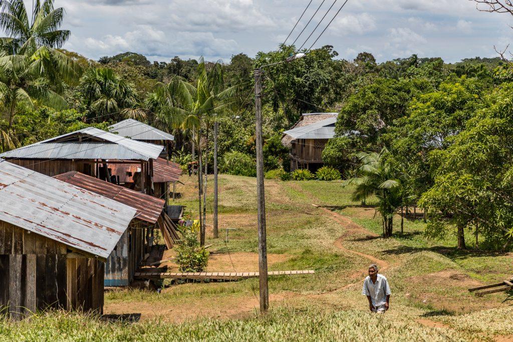 Die Tikuna-Gemeinde San Martin de Amacayacu