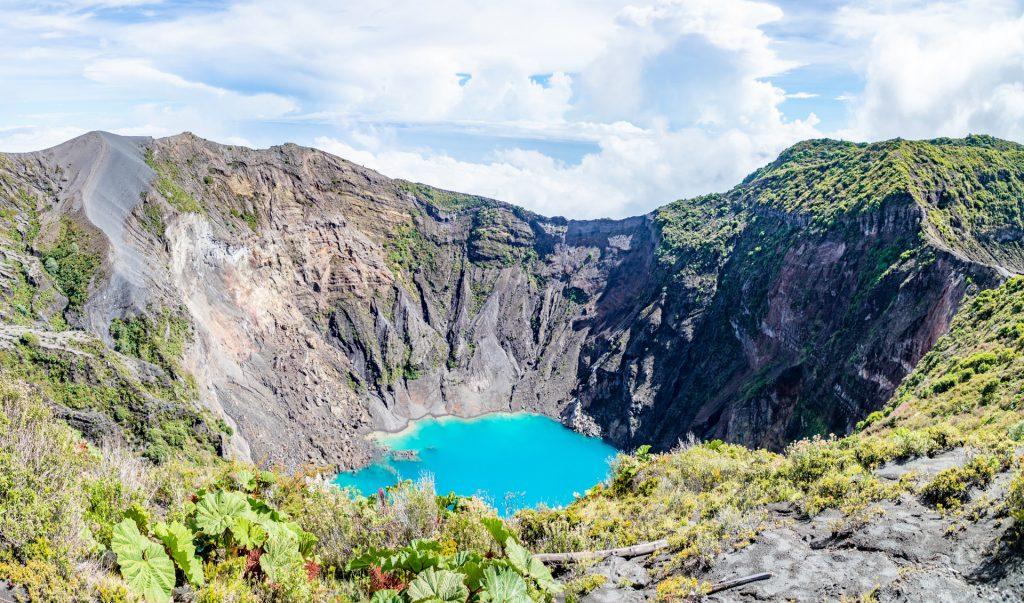 Der Cráter Principal - das beliebteste Fotomotiv am Vulkan Irazú