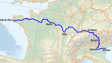Bild von Europäischer Fernwanderweg E5 – Planung der Alpenüberquerung