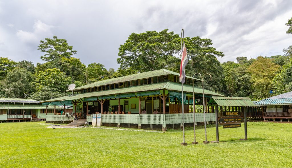 La Sirena - die größte Rangerstation im Corcovado Nationalpark